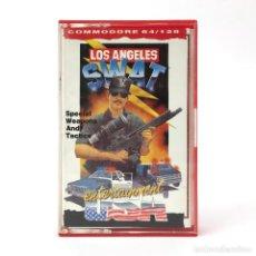 Videojuegos y Consolas: LOS ANGELES SWAT DRO SOFT ESPAÑA ESCUADRON TERRORISTA POLICIA L.A. CBM COMMODORE 64 128 C64 CASSETTE. Lote 261953635