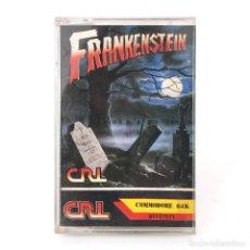 Videojuegos y Consolas: FRANKENSTEIN / ZAFIRO SOFTWARE ESPAÑA CRL 1988 HORROR JUEGO TERROR CBM COMMODORE 64 128 C64 CASSETTE. Lote 261953975