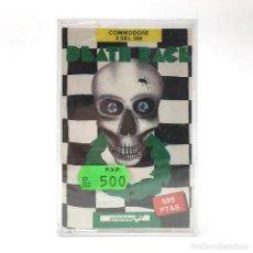 Videojuegos y Consolas: DEATH RACE PRECINTADO SYSTEM 4 ESPAÑA - ATLANTIS SOFTWARE CARRERAS CBM COMMODORE 64 128 C64 CASSETTE. Lote 261954280