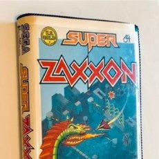 Videojuegos y Consolas: SUPER ZAXXON [US GOLD] 1984/85 [SEGA 1982] SEGA HESWARE ERBE SOFTWARE [COMMODORE 64 C64]. Lote 262035660