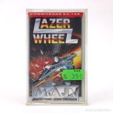 Videojuegos y Consolas: LAZER WHEEL MBE DRO SOFT ESPAÑA / MASTERTRONIC AUTOPISTA DEL CIELO CBM COMMODORE 64 128 C64 CASSETTE. Lote 262214705