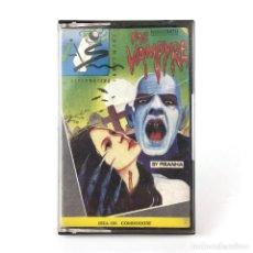 Videojuegos y Consolas: NOSFERATU THE VAMPYRE SYSTEM 4 ESPAÑA PIRANHA TERROR ISOMETRICA HORROR COMMODORE 64 128 C64 CASSETTE. Lote 262215740
