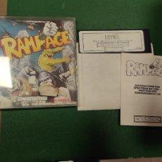 Videojuegos y Consolas: RAMPAGE - COMMODORE AMIGA DISK DISCO. Lote 263555090