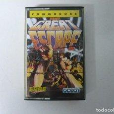 Videojuegos y Consolas: THE GREAT ESCAPE / COMMODORE 64 - C64 / RETRO VINTAGE / CASSETTE - CINTA. Lote 268469624