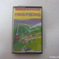 Videojuegos y Consolas: PING PONG / COMMODORE 64 - C64 / RETRO VINTAGE / CASSETTE - CINTA. Lote 268469814