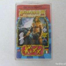Videojuegos y Consolas: BARBARIAN II / COMMODORE 64 - C64 / RETRO VINTAGE / CASSETTE - CINTA. Lote 268470019