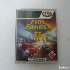 Videojuegos y Consolas: FIRE AND FORGET 2 / COMMODORE 64 - C64 / RETRO VINTAGE / CASSETTE - CINTA. Lote 268470164