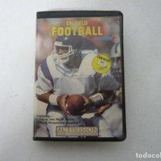 Videojuegos y Consolas: ON-FIELD FOOTBALL / COMMODORE 64 - C64 / RETRO VINTAGE / CASSETTE - CINTA. Lote 268470294
