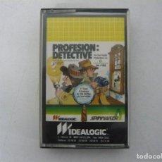 Videojuegos y Consolas: PROFESIÓN DETECTIVE / COMMODORE 64 - C64 / RETRO VINTAGE / CASSETTE - CINTA. Lote 268470314