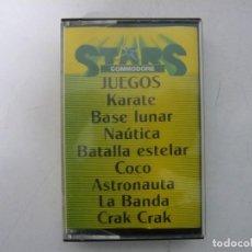 Videojuegos y Consolas: STARS COMMODORE / COMMODORE 64 - C64 / RETRO VINTAGE / CASSETTE - CINTA. Lote 268470484
