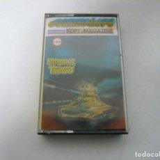 Videojuegos y Consolas: METROBLITZ - TANQUES / COMMODORE 64 - C64 / RETRO VINTAGE / CASSETTE - CINTA. Lote 268470624