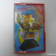 Videojuegos y Consolas: SPEED KING / COMMODORE 64 - C64 / RETRO VINTAGE / CASSETTE - CINTA. Lote 268470879