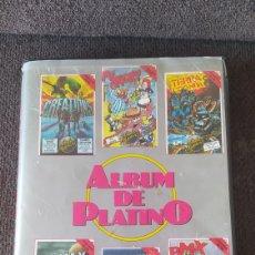 Videojuegos y Consolas: PACK ESTUCHE VIDEOJUEGOS - COMMODORE 64/128 - ÁLBUM PLATINO - 1987. Lote 268839339