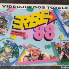 Videojuegos y Consolas: ESTUCHE VIDEOJUEGOS - ERBE 88 - COMMODORE 64/128 - CINTA CASSETTES. Lote 268848434