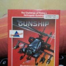Videojuegos y Consolas: GUNSHIP COMMODORE 64 C64. Lote 268942219