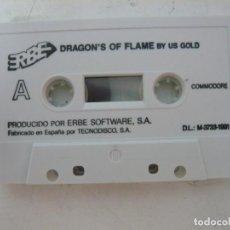 Videojuegos y Consolas: DRAGONS OF FLAME / SOLO CINTA/ COMMODORE / RETRO VINTAGE / CASSETTE. Lote 269933358