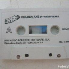 Videogiochi e Consoli: GOLDEN AXE / SOLO CINTA/ COMMODORE / RETRO VINTAGE / CASSETTE. Lote 269933373