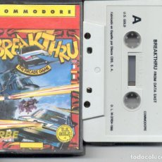 Videojuegos y Consolas: COMMODORE BREAKTHRU. Lote 270405968