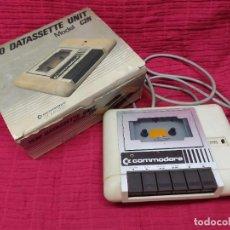Videojogos e Consolas: UNIDAD DE CASSETTE DATASSETTE 1530 MOD. C2N PARA C64.COMMODORE.MAS LIBRO DE INSTRUCCIONES. Lote 272338018