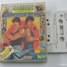 Videogiochi e Consoli: COMMODORE DRAGON NINJA DRAGONNINJA EDICION ESPAÑOLA. Lote 273196378
