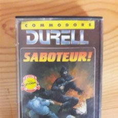 Videogiochi e Consoli: JUEGO COMMODORE SABOTEUR. Lote 273308323
