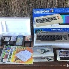 Videogiochi e Consoli: LOTE COMMODORE 64 - TECLADO - DATASETTE - REVISTAS Y JUEGOS GRABADOS. Lote 274267033