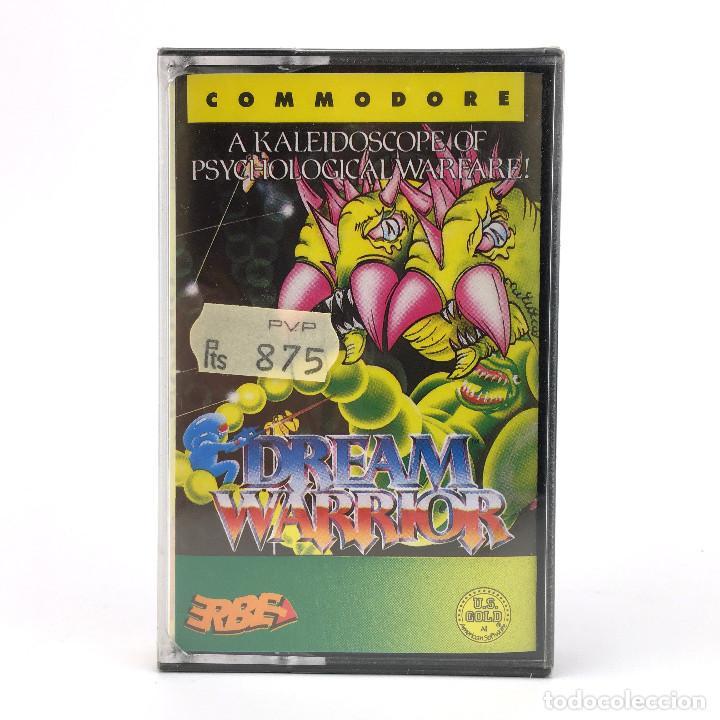 DREAM WARRIOR * PRECINTADO ERBE LOMO AMARILLO TARANN DEMONIO FUTURISTA COMMODORE 64 128 C64 CASSETTE (Juguetes - Videojuegos y Consolas - Commodore)