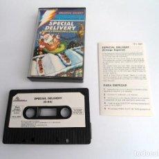 Videogiochi e Consoli: SPECIAL DELIVERY SANTA´S CHRISTMAS CHAOS - JUEGO COMMODORE 64 C64 COMPLETO - CREATIVE SPARKS 1984. Lote 231228460
