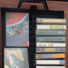 Videojogos e Consolas: LOTE COMMODORE 64 MAS MALETIN JUEGOS GRABADOS PROGRAMAS NO SPECTRUM SVI AMSTRAD.. Lote 280521773