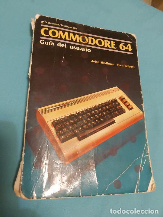 LIBRO COMMODORE 64 GUÍA DEL USUARIO 1985 (Juguetes - Videojuegos y Consolas - Commodore)