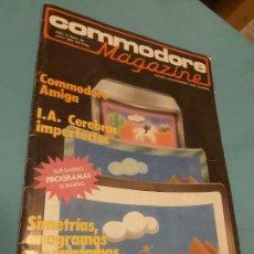 Videojuegos y Consolas: REVISTA COMMODORE MAGAZINE N. 40 1987. Lote 282856183