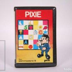 Videojogos e Consolas: VIDEOJUEGO RETRO CASETE COMMODORE 16 - PIXIE - MICROELECTRONICA Y CONTROL SA YEC - CASSETTE. Lote 286460903