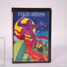 Videojogos e Consolas: VIDEOJUEGO RETRO CASETE COMMODORE 16 - PIXIE STEPS - MICROELECTRONICA Y CONTROL SA YEC - CASSETTE. Lote 286461188