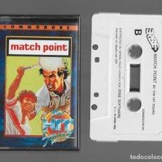 Videojuegos y Consolas: MATCH POINT COMMODORE 1989. Lote 286669418