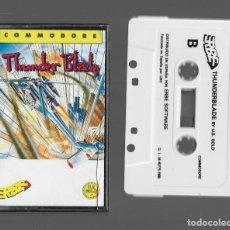 Videojuegos y Consolas: THUNDERBLADE COMMODORE 1988. Lote 286670088