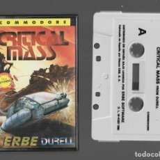 Videojogos e Consolas: CRITICAL MASS COMMODORE 1985. Lote 286670978