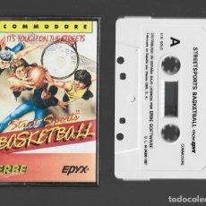 Videojuegos y Consolas: STREETSPORTS BASKETBALL COMMODORE 1987. Lote 286687123