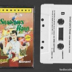Videojuegos y Consolas: SHAO LIN´S ROAD COMMODORE 1986. Lote 286688763