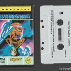Videogiochi e Consoli: WINTER GAMES COMMODORE 1987. Lote 286689343