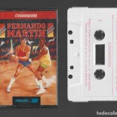 Videojuegos y Consolas: FERNANDO MARTIN COMMODORE 1987. Lote 286689838
