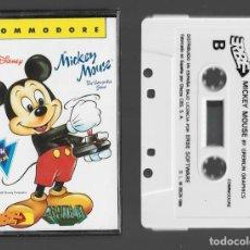 Videojuegos y Consolas: MICKEY MOUSE COMMODORE 1988. Lote 286692128