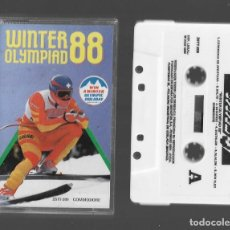 Videojuegos y Consolas: WINTER OLYMPIAD 88 COMMODORE 1988. Lote 286692713