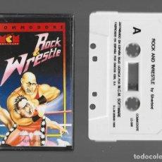 Videojuegos y Consolas: ROCK & WRESTLE COMMODORE 1988. Lote 286702553