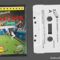 Videojogos e Consolas: SNOOKER SIMULATOR COMMODORE 1989. Lote 286707773