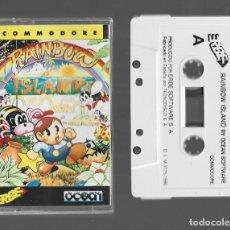 Videojogos e Consolas: RAINBOW ISLAND COMMODORE 1990. Lote 286709743