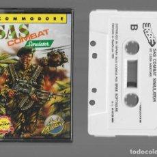 Videojogos e Consolas: SAS COMBAT SIMULADOR COMMODORE 1989. Lote 286741438