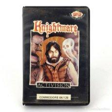 Videojuegos y Consolas: KNIGHTMARE ESTUCHE PROEIN SOFT LINE ESPAÑA ACTIVISION 1987 RETRO CBM COMMODORE 64 K 128 C64 CASSETTE. Lote 286992768