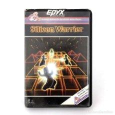Videojuegos y Consolas: SILICON WARRIOR ESTUCHE COMPULOGICAL ESPAÑA EPYX JUEGOS DE NEON SYBORG COMMODORE 64 128 C64 CASSETTE. Lote 286993183