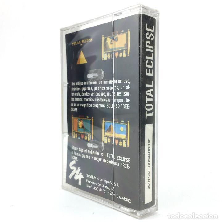 Videojuegos y Consolas: TOTAL ECLIPSE Precintado. SYSTEM 4 INCENTIVE SOFTWARE FREESCAPE SOLID 1988 COMMODORE 64 C64 CASSETTE - Foto 2 - 287397598