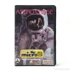 Videojuegos y Consolas: ASTRO CHASE ESTUCHE MICROBYTE FIRST STAR SOFTWARE / FERNANDO HERRERA 1984 COMMODORE 64 C64 CASSETTE. Lote 287397618